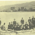 A yacht with Greek writing along the bottom Nautical Expedition and to the right Argo