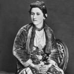 Greek woman from Trebizond, in fine dress with embracings 1881. Photographer: D.N. Yermakov