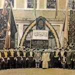 Trabzon opening of trade and crafts fair, 1903