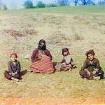 Kurd woman with children. [Artvin]