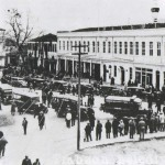 In front of the municipal building, Trebizond 1930