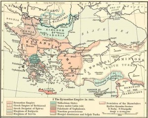 Empire of Trebizond map