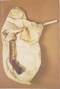 Figure 1. Tsabouna (tulum) bagpipe