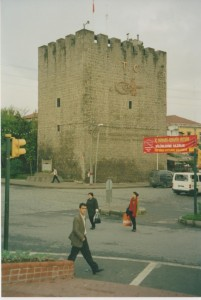 Figure 4. Lower City, Zağnos Kapisi Tower from the southwest (2003, author's collection)