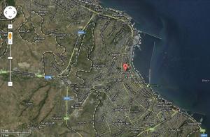 Figure 4: Modern Samsun (Google satellite maps)