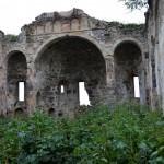 Greek church ruin
