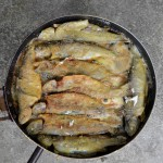 Pan-fried trout with butter from Trabzon Photo © Özhan Öztürk
