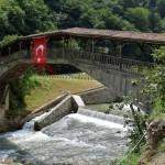 Hapseyas bridge Trabzon Of,Turkey