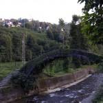 A historical Rize bridge which is an arc bridges with a single. Photos: © Copyright özhan Öztürk