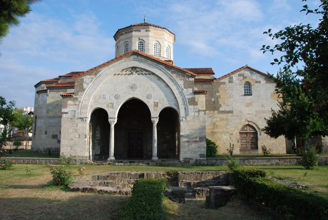 Hagia Sofia of Trabzon (The church, museum and now mosque ...