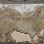 Lion relief Roman era from Trebizond, Pontos Anatolia Turkey Photo: © Özhan Öztürk