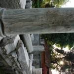 Hellenistic marble pillar from Trabzon Photo: © Özhan Öztürk