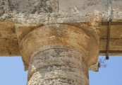 Greek temple column, Sicily Segesta
