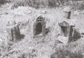 Plate 1 Stavri tombstones in the shape of churches (Ballance et al. 1966, p. 294)