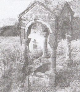 Figure 3: Tomb of Trabzon Metropolitan Constantios (1967) (Bryer 1968, p. 103)