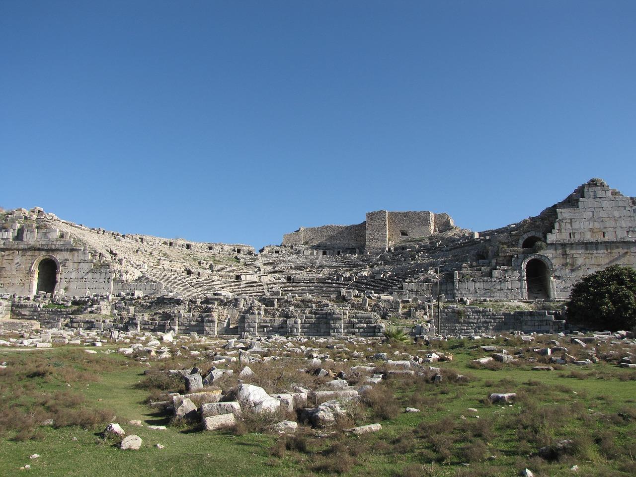 History Ilyas Bey Mosque MEDITERRANEAN Menteseogullari Emirate Milet Miletus Ottoman Empire Roman Columns Seafaring Nation Temple Of Apollo