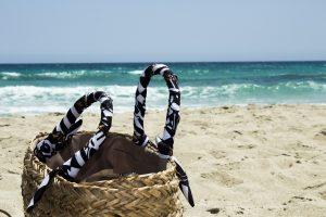 Beach Tatil Çanta Turizm Peyzaj Tenha Plaj Kum